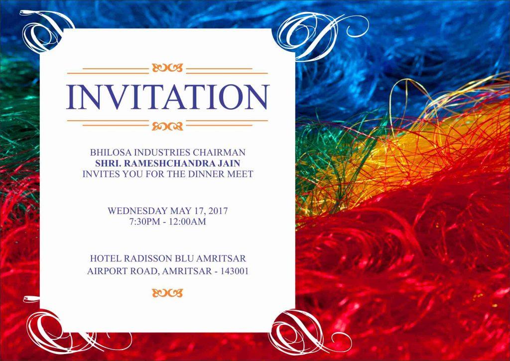 dinner invitation  creative bulls